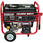 Gentron 10,000 Watt Electric Start Generator, CARB Compliant