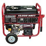 Gentron 10,000 Watt Electric Start Generator, CARB Compliant