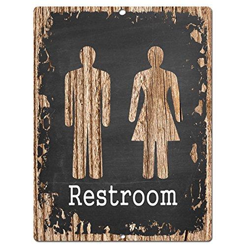 Restroom Vintage Chalkboard Kitchen Plaques