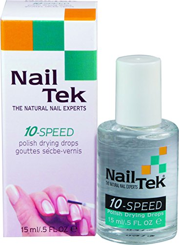 Nailtek for all nail types 10-Speed Drying Drops, 0.5 Fluid Ounce -