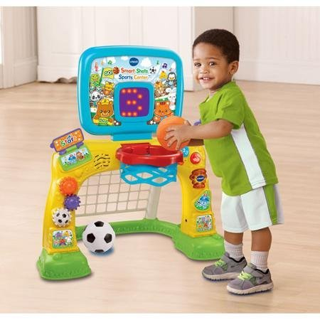 Bright Colors and Cute Design Electronic Smart Shots Sports Center, 50+ Songs, Multicolor by VTech (Image #4)