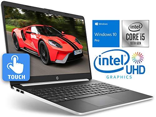 HP 15 Laptop, 15.6″ HD Touch Display, Intel Core i5-1035G4 Upto 3.70GHz, 8GB RAM, 256GB SSD, HDMI, Card Reader, Wi-Fi, Bluetooth, Windows 10 Pro S