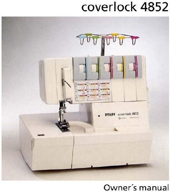 Descargar Pdf-File Pfaff Coverlock 4852 máquina de coser: Amazon ...
