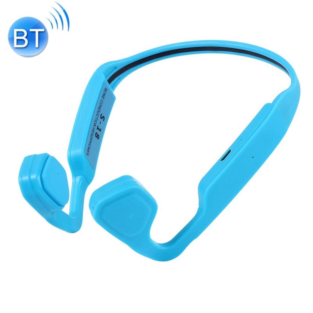 POPUPE S-18 Bone Conduction Bluetooth 4.1 Sports Outdoor Headphone (Blue)