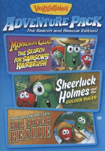 Adventure Pack Triple Feature (Veggie Tales) - DVD (Tales Adventure Pack Veggie)