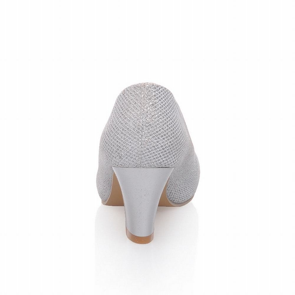 Carol Shoes Womens Elegant Fashion Mid Heel Sequins Bling Bling Court Shoes: Amazon.co.uk: Shoes & Bags