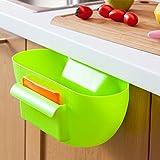 Okayji Cute Home Kitchen Cabinet Trash Storage Box Organizers Garbage Holder Portable - Random Colour