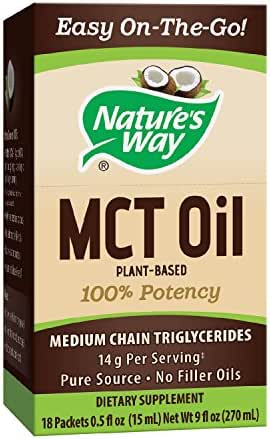 Nature's Way MCT Oil Packets