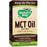 Natur's Way 100% Potency Pure Source MCT Oil From Coconut- On-The-Go Single-Serve Packets- Vegetarian, Gluten-free, Flavorless, No Filler Oils, Hexane-free- 18 Count