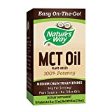 Cheap Nature's Way 100% Potency Pure Source MCT Oil from Coconut- On-The-Go Single-Serve Packets- Vegetarian, Gluten-Free, Flavorless, No Filler Oils, Hexane-Free- 18 Count