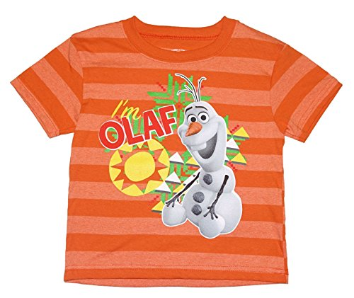 Disney Frozen I'm OLAF Toddler Little Boys Fashion Tee T-Shirt