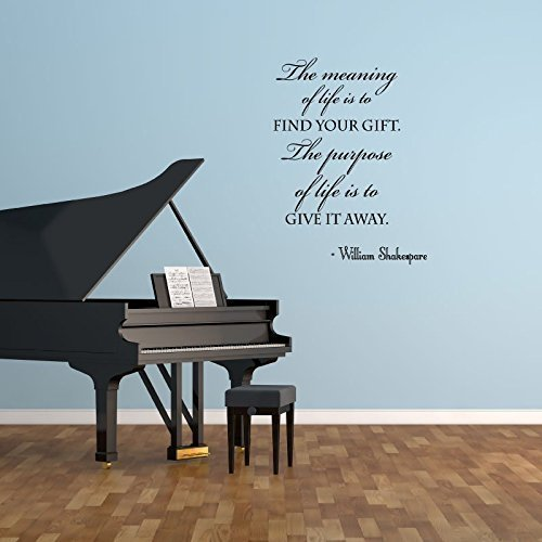 Amazon Com Life Quotes Wall Decals William Shakespeare Quote The