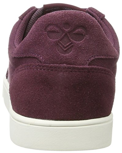 Sneakers Top Slimmer Red Hummel Herringbone Eggplant Women's Stadil Low SwRnfY