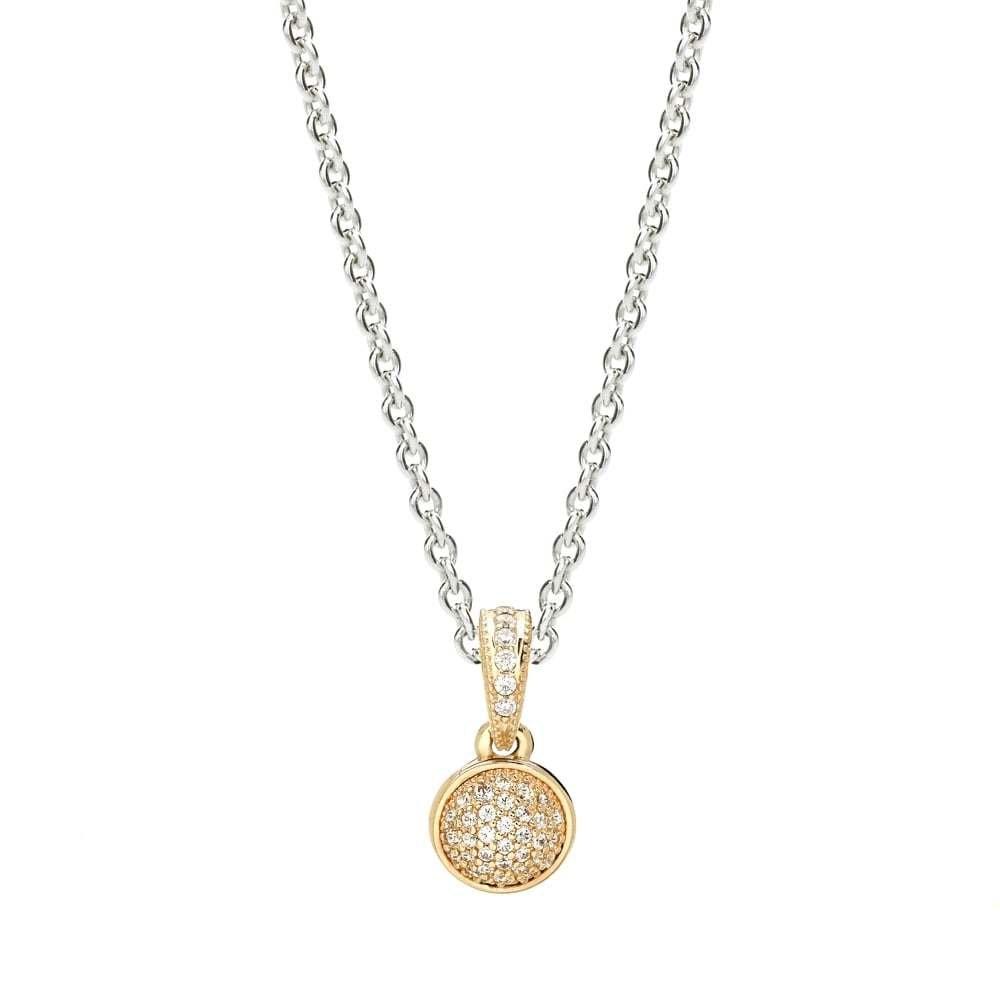 589dfcb2b Amazon.com: PANDORA Pendant in 14k Gold with 45 Bead-Set Clear Cubic  Zirconia - 356213CZ: Jewelry