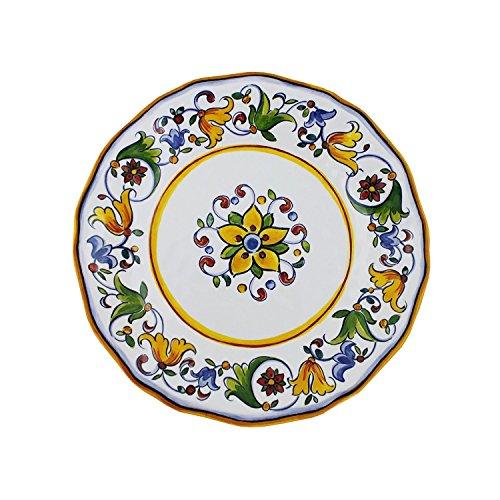 Le Cadeaux Salad - Le Cadeaux Capri - Melamine Salad Plate - Set of 4