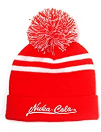 7b034c0bb5d Beanie Hat Nuka Cola Logo Official Xbox Ps4 Gamer Red Bobble