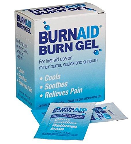 BurnAid 3-1/2-Gram Burnaid Gel Sachets, Pack of (Burnaid Burn Gel)
