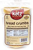 Katz Gluten-Free Bread Crumbs | Dairy, Nut, Soy and Gluten-Free | Kosher (1 Pack, 7 Ounce)
