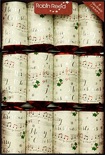 Robin Reed 8-Piece Chime Bars Christmas Crackers 71708 (Christmas Musical Crackers)