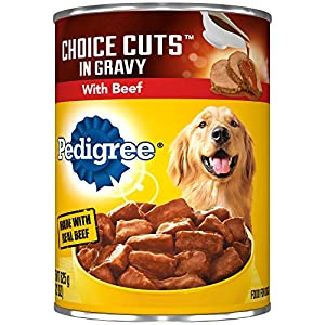 Pedigree Choice Cuts In Gravy With Beef Adult Canned Wet Dog Food, (12) 22 Oz. Cans 10