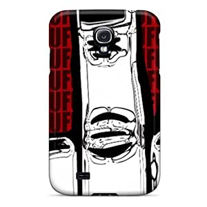 [grs1491wsCQ]premium Phone Case For Galaxy S4/ Bad Finger Tpu Case Cover