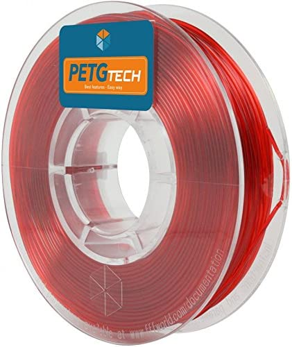 FFFworld 250 g. PETG Tech Rojo 1.75 mm.: Amazon.es: Electrónica