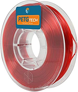 FFFworld 250 g. PETG Tech Rojo 1.75 mm.: Amazon.es: Electrónica