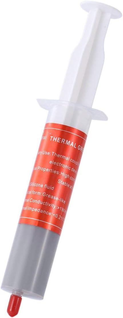 FHJZXDGHNXFGH-FR Graisse Thermique pour seringue Chaude pour p/âte /à dissipateur de Chaleur du CPU Compos/é conducteur Graisse Thermique pour seringue 30g Mat/ériau ABS