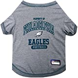 NFL PHILADELPHIA EAGLES Dog T-Shirt, Medium