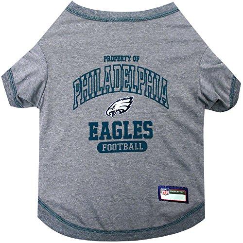 NFL PHILADELPHIA EAGLES Dog T-Shirt, Large