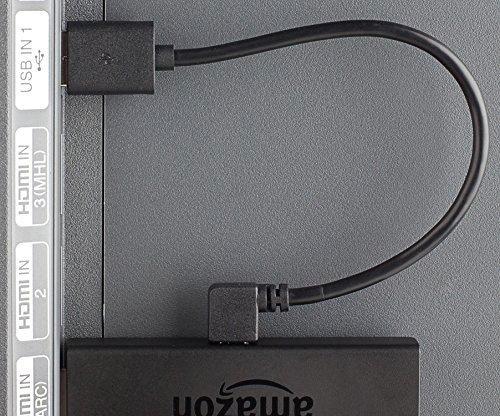 USB Typ A auf Micro-USB Winkel 90 Grad 50 cm Kabel für mehr Power Fire TV Stick Handy Tablet etc