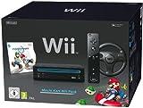 Nintendo Wii Black (Pal) with MarioKart. Unlocked !!
