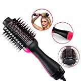 QJHP Hair Straightener Brush Professional Multifunction Ionic Anti-Static Adjustable Temperatures Overheating Protection for Home and Travel