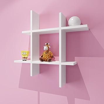 Amazon.com: Wall Shelf Wall Hanging Living Room TV Wall Decorative ...