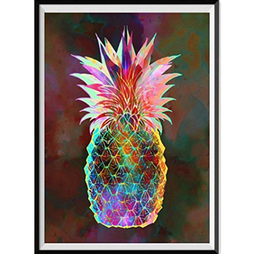 DIY 5D Diamond Painting by Number Kits,Vibola Part Round Diamond Home Decor Gift Diamond Painting Embroidery (E-30x40cm)