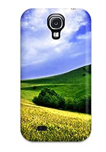 New Style Case Cover Green Meadows Compatible With Galaxy S4 Protection Case