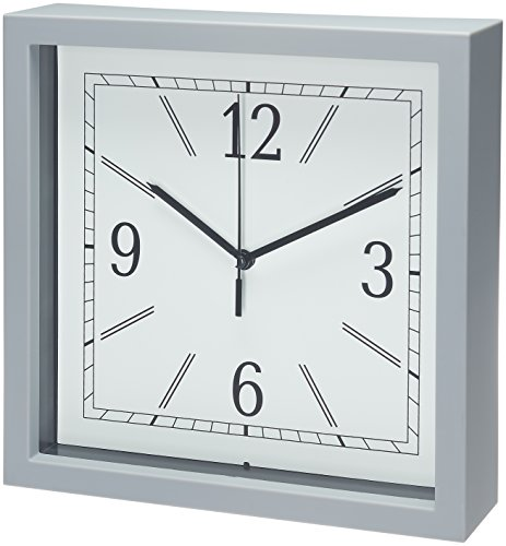 Bernhard Products Square Wall Clock, 9