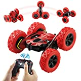 Terresa Remote Control Car - 1/28 Scale 2.4Ghz Stunt Car, 360 Degree Rotating Off Road Electric Race Double Side RC Cars as Xmas Christmas Year Gifts for Kids