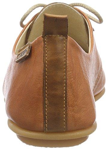 Pikolinos Calabria 917-7123 - Zapatos de Cordones para Mujer Naranja (Arancione)