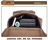 KAUKKO Fashion Multifunction Canvas Crossbody Bag