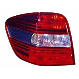 ACK Automotive Mercedes-Benz M Tail Light Assembly Replaces Oem: 164 820 37 64 Driver Side