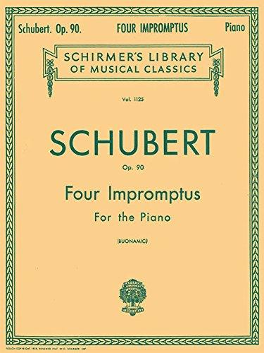 Schubert: Four Impromptus for the Piano, Opus 90 (Schubert Op 90 No 4 Sheet Music)