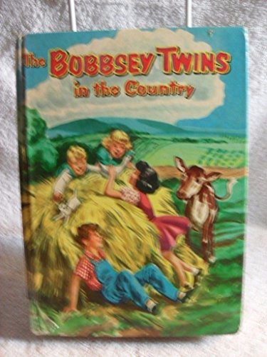 SCARCE! THE BOBBSEY TWINS IN THE COUNTRY LAURA LEE HOPE 1953 Children's - Shipping Paypal Return