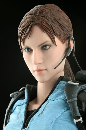 Hot Toys Resident Evil 5 Video Game Masterpiece Jill Valentine Collectible Figure [B.S.A.A. Version]