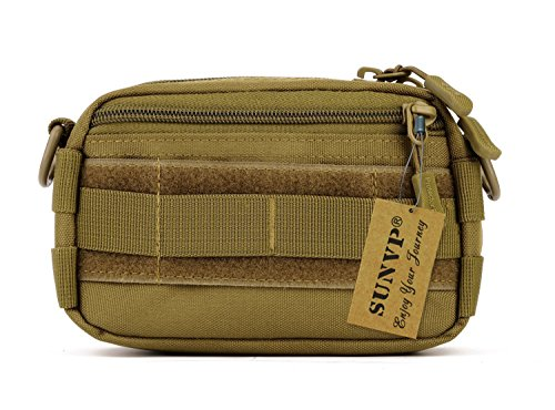Protector Plus Tactical Utility MOLLE Pouch Outdoor Casual Messenger Bag Military Waist Belt Bag Pack