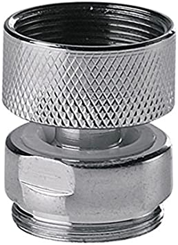 Swivel Metal Adaptor For Water Kitchen Faucet Tap Aerator M22x22mm Female X Male Amazon Com
