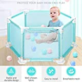 Kids Ball Pit,Children's Playpen Toys Washable Ocean Ball Pool Hexagonal Set For Babies/Toddler/Newborn/Infant Safe Crawling