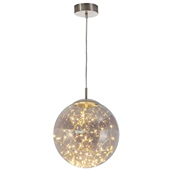 LED Decken Pendel Lampe Ess Zimmer Beleuchtung Glas Strahler Design Hänge Lampe