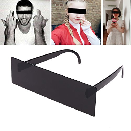 (Black Pixilated IT Thug Life Sunglasses Halloween Costumes Glasses Party Glasses)