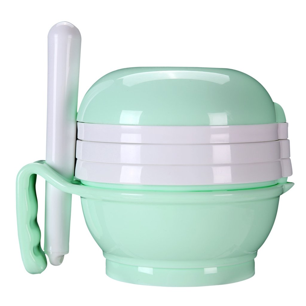 MagiDeal Baby Food Mill Grinding Bowl Grinder Processor Multifunction
